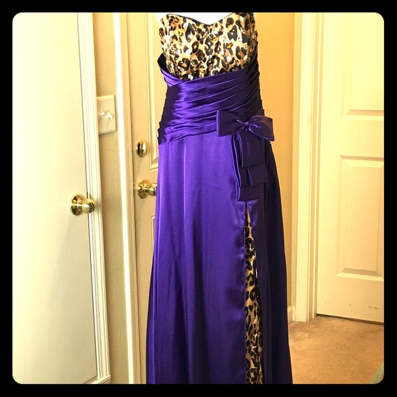 Cindy USA Dresses & Skirts - Cindy Collection_USA_Leopard Gown_Size-L